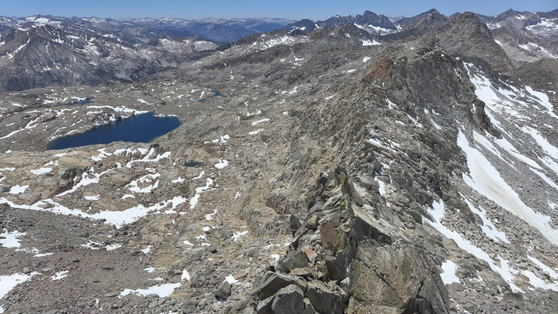 Rock Climbing Photo: looking back toward Isosceles