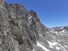 Rock Climbing Photo: view toward Starlight