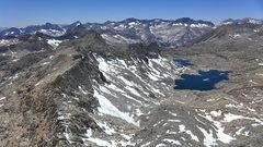 Rock Climbing Photo: looking toward Dusy Basin