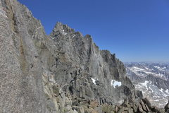 Rock Climbing Photo: view toward Starlight after topping out on the rid...
