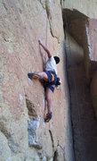 Rock Climbing Photo: start of ROF