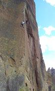 Rock Climbing Photo: like the arete
