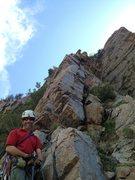 Rock Climbing Photo: John Evans