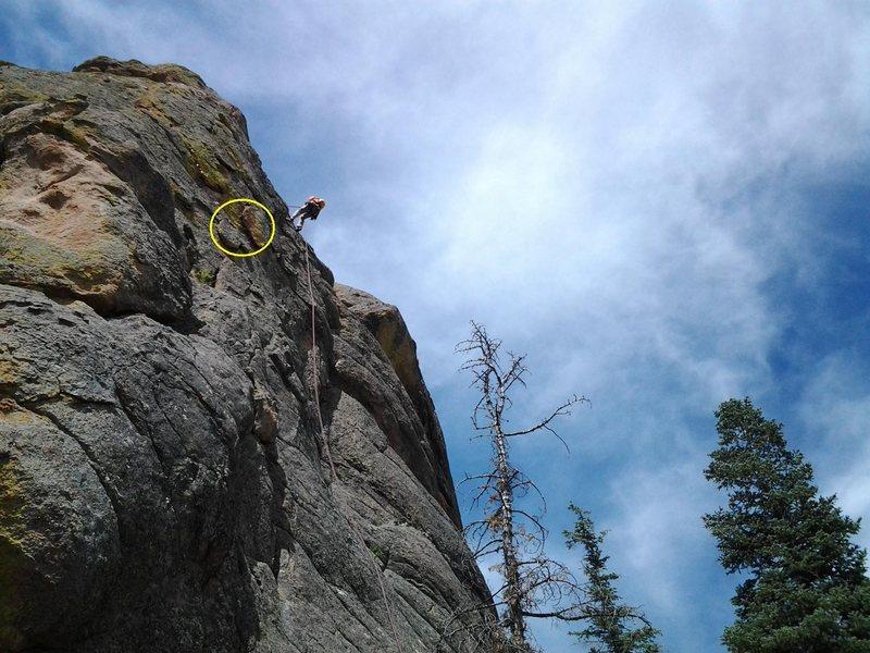 Rock Climbing Photo: Some of the detached boiler plates - Cuidado!
