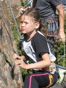 Rock Climbing Photo: Chloe focus