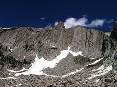 Rock Climbing Photo: Lone Peak Center Thumb