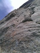Rock Climbing Photo: Afterburner pitch on Flathead Buttress