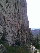 Rock Climbing Photo: Flathead Buttress, June 1st