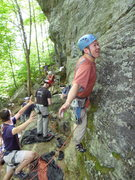 Rock Climbing Photo: I may or may not be in good hands with such an att...