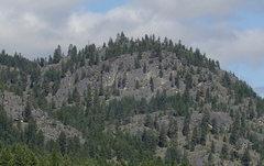 Rock Climbing Photo: Shangri-la from the east.