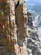 Rock Climbing Photo: Saber2.