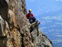 Rock Climbing Photo: Saber3.