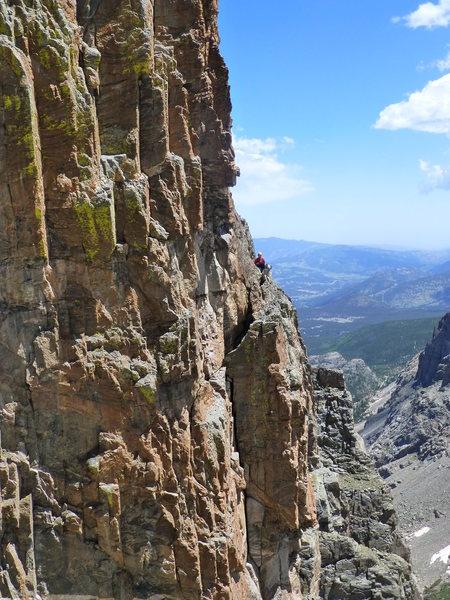 Rock Climbing Photo: Saber4.