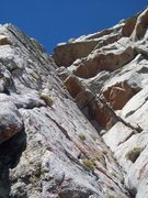 Rock Climbing Photo: View from bottom of P1