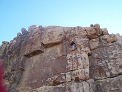 Rock Climbing Photo: Climbing like an Egyptian?