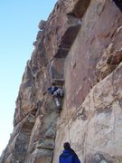 Rock Climbing Photo: Overcoming the overwhelming overhang (I may have b...