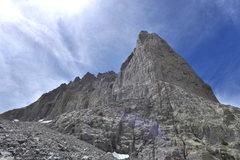 Rock Climbing Photo: the final talus field