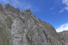 Rock Climbing Photo: Sun Ribbon