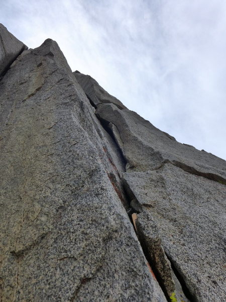 looking up at the 5.8 section