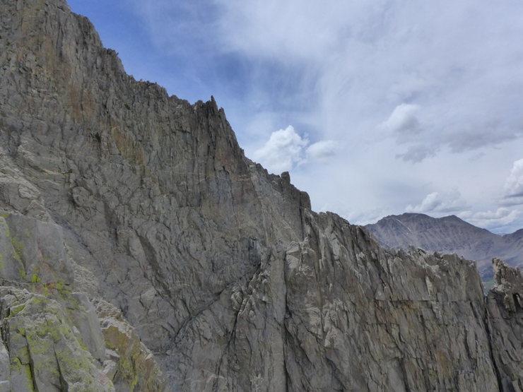 Rock Climbing Photo: and Sun Ribbon again