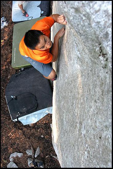 Rock Climbing Photo: Sorry Charlie