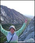 Rock Climbing Photo: Dorsal Fin