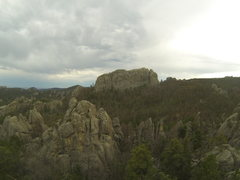 Rock Climbing Photo: Mount Dalymore as seen from the summit of Death Fl...