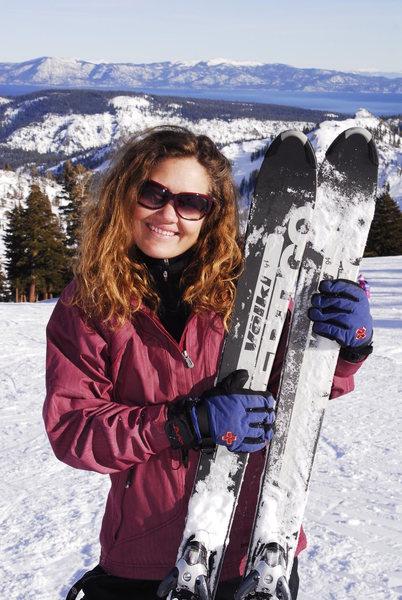 Rock Climbing Photo: Squaw Valley Ski Day
