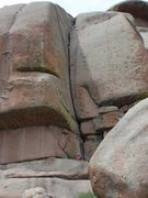 Rock Climbing Photo: Angus.
