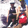 Amy and me at City of Rocks, Idaho, 1998.