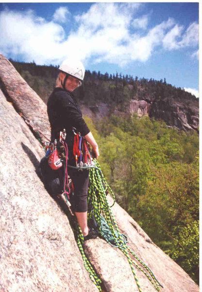 Rock Climbing Photo: Rainbow Slabs, Kancamagus Highway circa 2002
