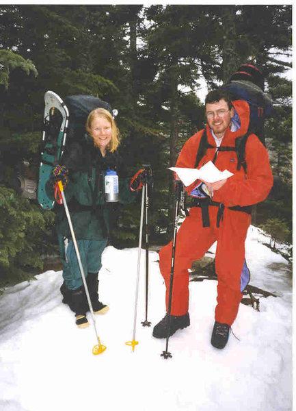 Rock Climbing Photo: Great Gulf Wilderness, White Mountains, NH 1998 -d...