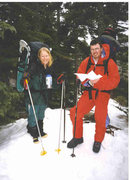 Great Gulf Wilderness, White Mountains, NH 1998 -during the Big Ice Storm!
