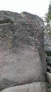 Rock Climbing Photo: Castle Grey Skull