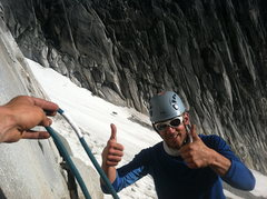 Rock Climbing Photo: Approach: Check. Vertical feet to climb: 3000. Cor...