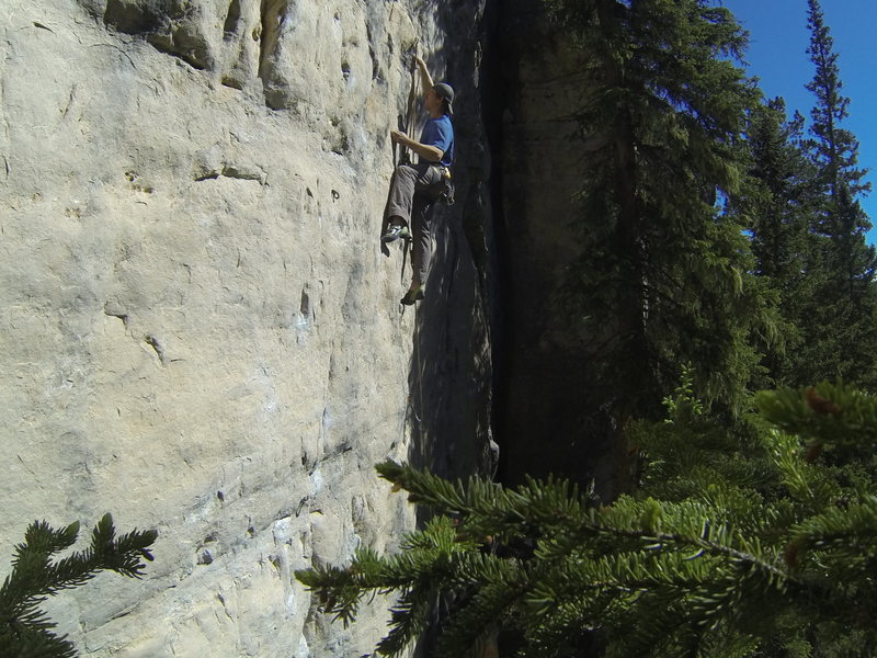 Rock Climbing Photo: SICK! SWEEEET! Oh huck yeah! This is Tha Shiznit!