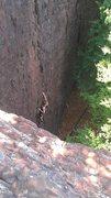 Rock Climbing Photo: 5.9+ Pinnacle Rock CT