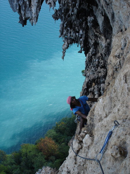 Rock Climbing Photo: 3rd pitch...
