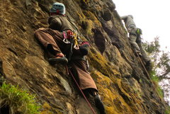 Rock Climbing Photo: Jegna Almotem in the foreground