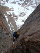 Rock Climbing Photo: Classic alpine mixed