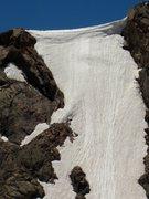 Rock Climbing Photo: Crux of Snow Leopard.