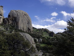 Rock Climbing Photo: This Southern formation looks like the spot for ha...