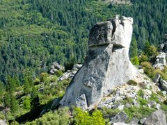 Rock Climbing Photo: Middle Spire