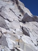 Rock Climbing Photo: Second pitch of SE Buttress