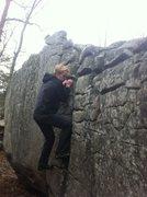 Rock Climbing Photo: Crack Pipe at Horse Pens 40