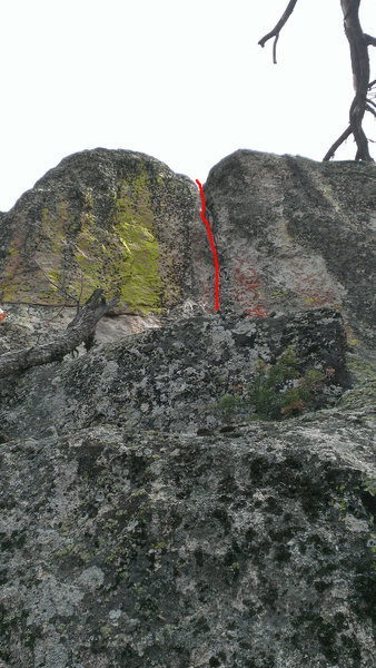 Rock Climbing Photo: Rust