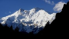 Rock Climbing Photo: Nanga Parbat, taken from near the site of the mass...