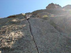 Rock Climbing Photo: Lumpy Ridge - Pear Buttress