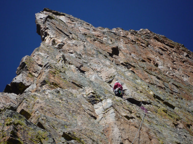 Rock Climbing Photo: Petit Grepon - South Face