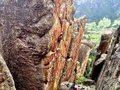 Rock Climbing Photo: Shaun Reed on Psychatomic.